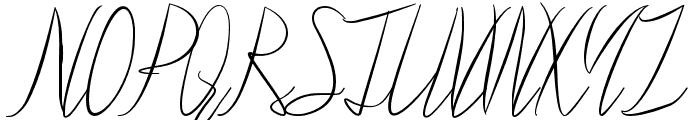 Ralph Bellagni Script Font UPPERCASE