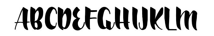RalyndaRegular Font UPPERCASE