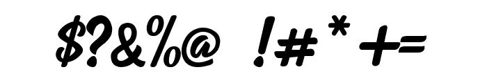 Raphtalia Font OTHER CHARS