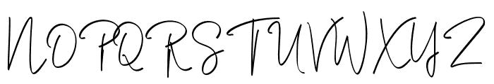 Rasendrya Font UPPERCASE