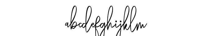 Rasendrya Font LOWERCASE