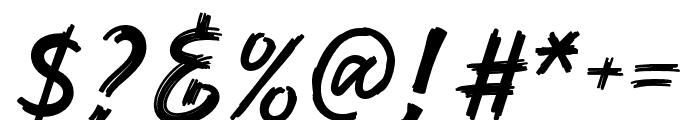 Rashkey-Regular Font OTHER CHARS