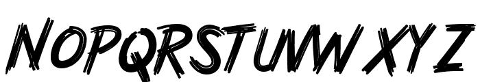 Rashkey-Regular Font UPPERCASE