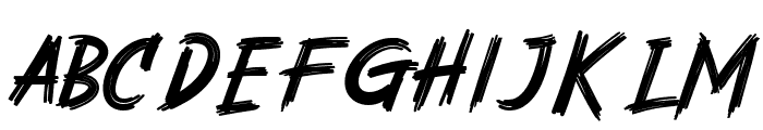 Rashkey-Regular Font LOWERCASE