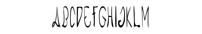 Raspberry Monkey Font UPPERCASE