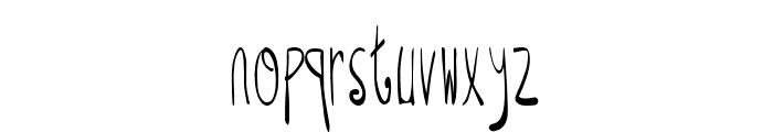 Raspberry Monkey Font LOWERCASE