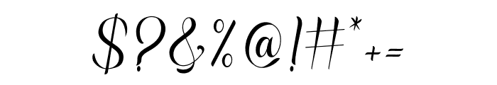 Rasputia Font OTHER CHARS