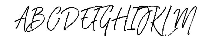 RasthmonBrush Font UPPERCASE