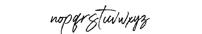 RasthmonBrush Font LOWERCASE