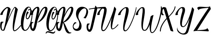 Rautter Font UPPERCASE