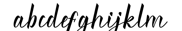 Rautter Font LOWERCASE