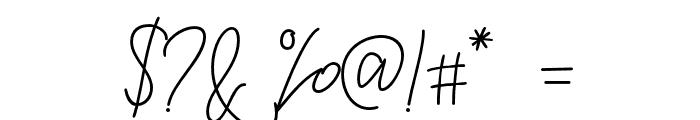 RaymodColinBold-Bold Font OTHER CHARS
