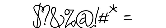 RaymodColinBoldTwo-Bold Font OTHER CHARS