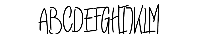 RaymodColinBoldTwo-Bold Font UPPERCASE