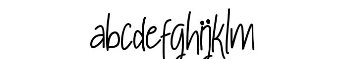 RaymodColinBoldTwo-Bold Font LOWERCASE