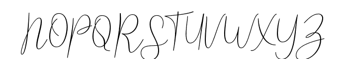 Reading-Regular Font UPPERCASE