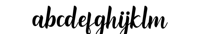 ReadingScript Font LOWERCASE