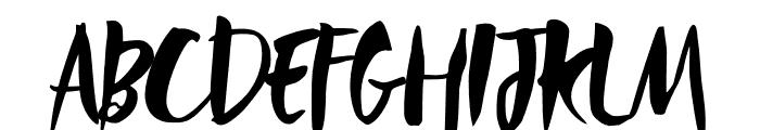 Rebel Heart Font UPPERCASE