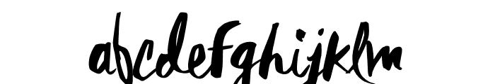 Rebel Heart Font LOWERCASE