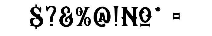 Reborn Basic Font OTHER CHARS