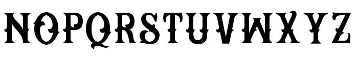 Reborn Basic Font LOWERCASE