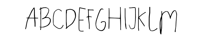 Recipe Daily LIGHT Font LOWERCASE