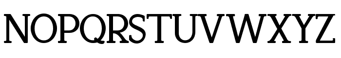 Recoba Bold Font UPPERCASE