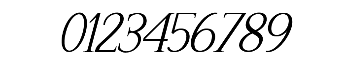 Recoba Italic Font OTHER CHARS