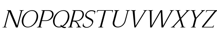 Recoba Italic Font LOWERCASE