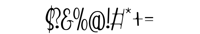 Red Monkey Font OTHER CHARS