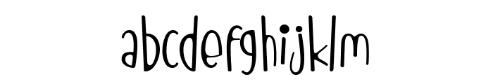 Red Monkey Font LOWERCASE