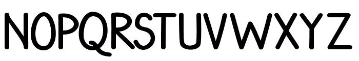 RedMonday Font UPPERCASE