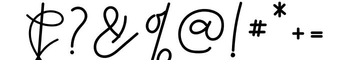 Reddem Font OTHER CHARS