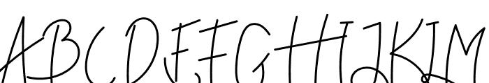 Reddem Font UPPERCASE