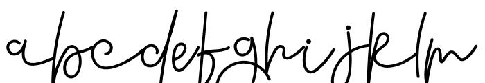 Reddem Font LOWERCASE