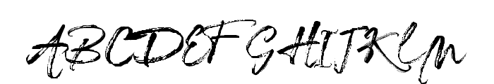 Redesey Font UPPERCASE