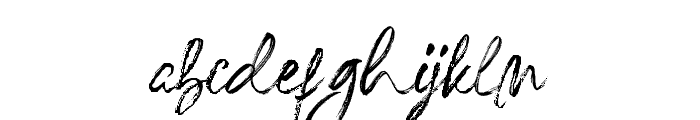 Redesey Font LOWERCASE