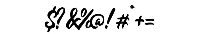 Redlineryh Font OTHER CHARS