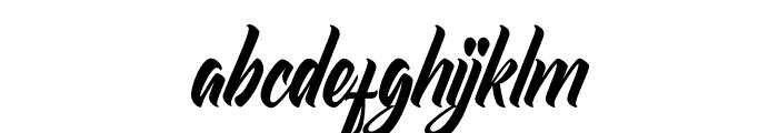 Redlineryh Font LOWERCASE