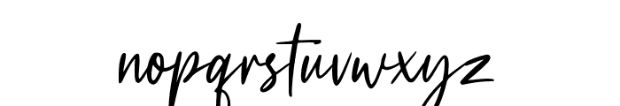 Redstand Standard Font LOWERCASE