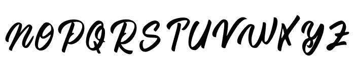 Regal Love Font UPPERCASE