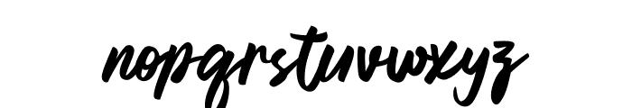 Regal Love Font LOWERCASE