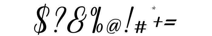 Regalhisa Font OTHER CHARS