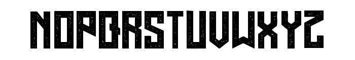 Regensburg Grunged Regular Font LOWERCASE