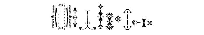 Relic Island 2 frame Regular Font OTHER CHARS