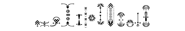 Relic Island 2 frame Regular Font LOWERCASE