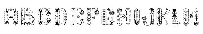 Relic Island 2 in Regular Font LOWERCASE