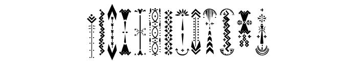 RelicIsland2frame-Regular Font UPPERCASE