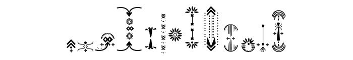 RelicIsland2frame-Regular Font LOWERCASE