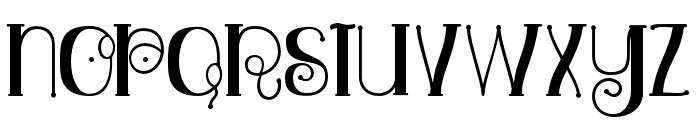 Relick Hunter01 Regular Font LOWERCASE